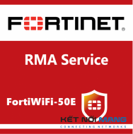 5 Year Next Day Delivery Premium RMA Service (requires 24x7 support) for FortiWiFi-50E