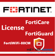 Bản quyền phần mềm 1 Year HW bundle Upgrade to 24x7 from 8x5 FortiCare Contract for FortiWiFi-80CM