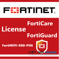 Bản quyền phần mềm 1 Year HW bundle Upgrade to 24x7 from 8x5 FortiCare Contract for FortiWiFi-90D-POE