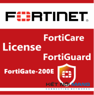 Bản quyền phần mềm 1 Year 8x5 FortiCare Contract for FortiGate-200E
