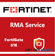 Bản quyền phần mềm 1 Year 4-Hour Hardware and Onsite Engineer Premium RMA Service for FortiGate-61E