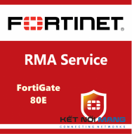 Bản quyền phần mềm 1 Year 4-Hour Hardware and Onsite Engineer Premium RMA Service for FortiGate-80E