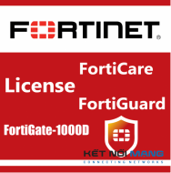 Bản quyền phần mềm 1 Year HW bundle Upgrade to 24x7 from 8x5 FortiCare Contract for FortiGate-1000D