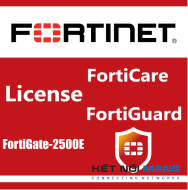 Bản quyền phần mềm 1 Year HW bundle Upgrade to 24x7 from 8x5 FortiCare Contract for FortiGate-2500E
