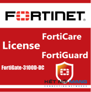 Bản quyền phần mềm 1 Year HW bundle Upgrade to 24x7 from 8x5 FortiCare Contract for FortiGate-3100D-DC