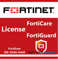Bản quyền phần mềm 1 Year 8x5 FortiCare Contract for FortiGate-30E-3G4G-NAM