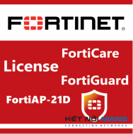 Bản quyền phần mềm 3 Year 8x5 Enhanced FortiCare for FortiAP-21D