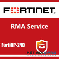 1 year 4-Hour Hardware and Onsite Engineer Premium RMA Service for FortiAP-24D