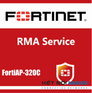 1 year 4-Hour Hardware and Onsite Engineer Premium RMA Service for FortiAP-320C