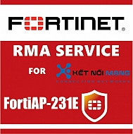 1 Year 4-Hour Hardware and Onsite Engineer  Premium RMA Service (requires 24x7 support) for FortiAP-231E
