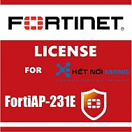 Bản quyền phần mềm 3 Year 8x5 FortiCare Contract for FortiAP-231E