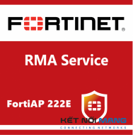 3 Year 4-Hour Hardware Delivery Premium RMA Service for FortiAP-222E