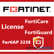 Bản quyền phần mềm 3 Year 8x5 FortiCare Contract for FortiAP-223E