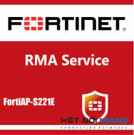 1 year 4-Hour Hardware and Onsite Engineer Premium RMA Service for FortiAP-S221E