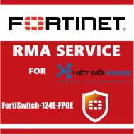 1 year 4-Hour Hardware and Onsite Engineer Premium RMA Service for FortiSwitch 124E-FPOE