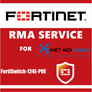 1 year Next Day Delivery Premium RMA Service for FortiSwitch 124E-POE