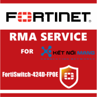 1 year 4-Hour Hardware and Onsite Engineer Premium RMA Service for FortiSwitch 424D-FPOE