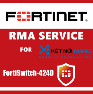 1 year 4-Hour Hardware Delivery Premium RMA Service for FortiSwitch 424D