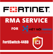 1 year 4-Hour Hardware Delivery Premium RMA Service for FortiSwitch 448D
