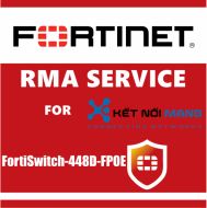 1 year 4-Hour Hardware Delivery Premium RMA Service for FortiSwitch 448D-FPOE