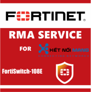 1 year 4-Hour Hardware and Onsite Engineer Premium RMA Service for FortiSwitch 108E