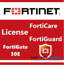 Bản quyền phần mềm 1 Year 24x7 FortiCare Contract for FortiGate-30E