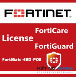 Bản quyền phần mềm 1 Year Enterprise Protection for FortiGate-60D-POE