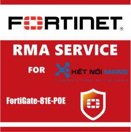 1 Year Secure RMA Service for FortiGate-81E-POE