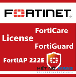 Bản quyền phần mềm 3 Year 24x7 FortiCare Contract for FortiAP-222E