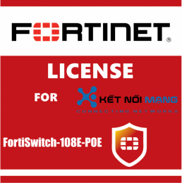1 year 24x7 FortiCare Contract for FortiSwitch 108E-POE