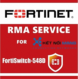 1 year 4-Hour Hardware Delivery Premium RMA Service for FortiSwitch 548D