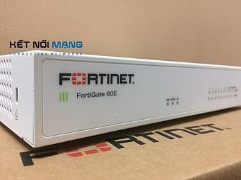 Thiết bị tường lửa Fortinet FortiGate FG-60E Security Appliance